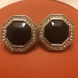 VINTAGE SWAROVSKI SIGNED S.A.L. EARRINGS